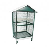 A&E Pitched Roof Aviary Medium