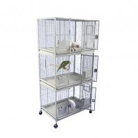 Triple Stack Parrot Cage With Key Locks 36 X 24 X 76