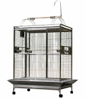 A&E Stainless Steel Playtop Cage Super Sized