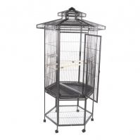 A&E Hexagonal Bird Cage With Pagota Top