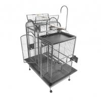 A&E Split Level House Cage With Divider 42 X 26