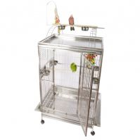 A&E Stainless Steel Extra Large Play Top Bird Cage