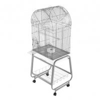 A&E Opening Dome Top Cage, Plastic Base, Detachable Stand