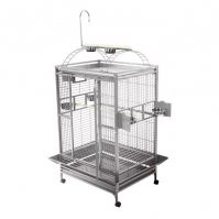 A&E Stainless Steel Large Play Top Bird Cage