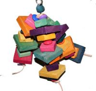 Brainy Bird Blockhead Bird Toy