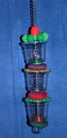 Brainy Bird Triple Treat Foraging Toy