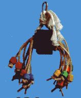 Fun Max Spiddy Medium Bird Toy