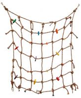 Fun Max Colored Cotton Net 30 X 30 X1/4