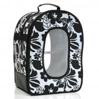 Soft Sided Bird Travel Carrier Black