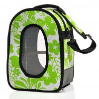 Soft Sided Bird Travel Carrier Green