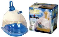 JW Toys Enclosed Bird Bath
