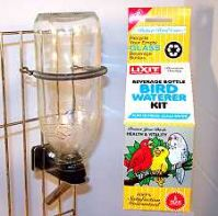 Lixit Waterer Kit For Small To Medium Birds