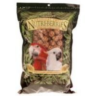 Tropical Fruit Nutriberries Macaw & Cockatoo 3 LB Bag