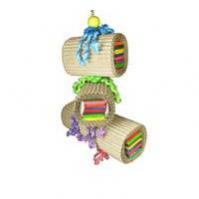 Mighty Bird Toy Triple Stacked