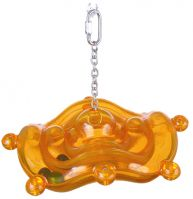 Natures Instinct Rhythmwise Silly Saucer Small Bird toy