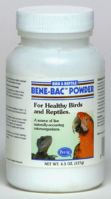 Pink Parrot Bene Bac Plus Powder, 4.5 Oz.