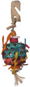 Planet Pleasures Basket Foraging Toy Small