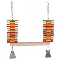 Featherland Perch Swing With Blocks X-Large