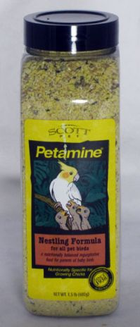 Petamine Nestling Food Supplement, 1.5 Lb.