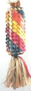 Planet Pleasures Rainbow Pinata Diagonal Large Bird Toy