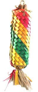 Planet Pleasures Rainbow Pinata Diagonal X-Large Bird Toy