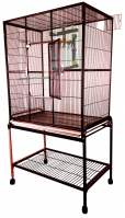 A&E Flight Cage  #1331-Size 32 X 21 X 63 (Color Choice: Burgundy)