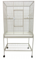 A&E Flight Cage  #1331-Size 32 X 21 X 63 (Color Choice: White)