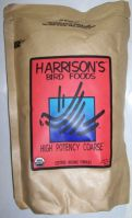 Harrisons Bird Foods High Potency Coarse In 1, 5, & 25 Lb Bags (High Potency Sizes: 1 Lb Bag)