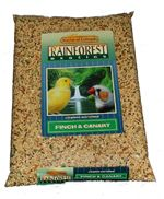 Kaylor Rainforest Canary & Finch Seed Mix, In 3 Sizes (Rainforest Canary & Finch, Choose Bag Size: 2 Lb Bag (KRF0102))