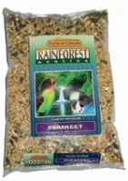 Kaylor Rainforest Parakeet Seed Mix In 3 Sizes (Rainforest Parakeet, Choose Size: 2 Lb Bag, (KRF0302))