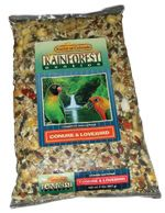 Kaylor Rainforest Conure & Lovebird In 3 Sizes (Rainforest Conure & Lovebird, Choose Size: 2 Lb. Bag-KRF1102)
