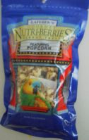 Lafeber's Popcorn Nutri-Berries Cockatiel Or Parrot (Popcorn Nutri-Berries Choose Species 4Oz. Or 1 Lb.: Parrot, 4 Ounces)