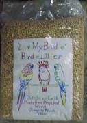 Earth Safe Birdie Litter (Earth Safe Birdie Litter: 15 Lbs (LMB15))