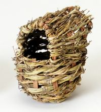 Prevue Twig Covered Finch Nest, Small Or Large (Twig Covered Finch Nest, Choose Size: Small (PRE1150))