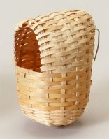 Prevue Covered Bamboo Finch Nest, Small Or Large (Covered Bamboo Finch Nest, Choose Size.: Small (PRE1154))