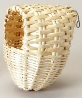 Prevue Covered Bamboo Finch Nest, Small Or Large (Covered Bamboo Finch Nest, Choose Size.: Large (1155))