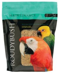 Roudybush Daily Maintenance Bird Food 44 Ounces (Maintenance 44 Oz. Choose Pellet Size: Nibble)