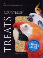 Roudybush Rice Treats 2 OZ. (Rice Treats Choose Pellet Size: Big)