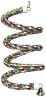 "Super Bird Spiral Rope Perch, Small, Medium, Large And Extra Large. (Super Bird Spiral Perch, Choose Size: Small -Best for small birds 1/2"" X 52"".)"