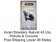 ZuPreem Avian Breeder Natural 40 Lb Bags, Two Sizes